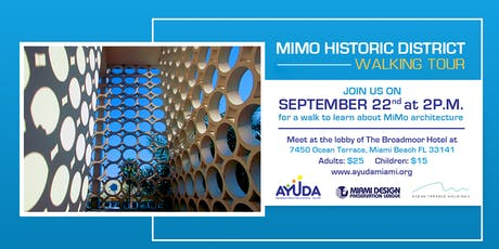 MIMO Historic District Walking Tour entradas