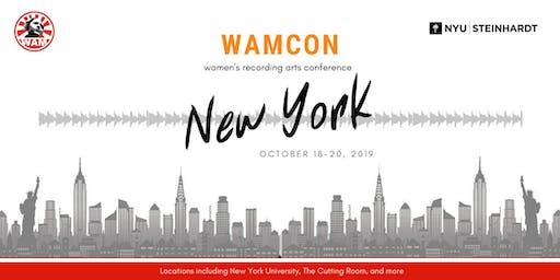 WAMCon New York 2019