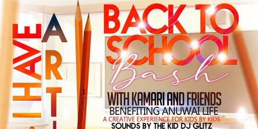 I Have ARTism Back to School Bash   with Kamari and Friends