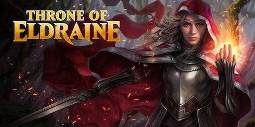 Magic Prerelease Throne of Eldraine Super Weekend Pass