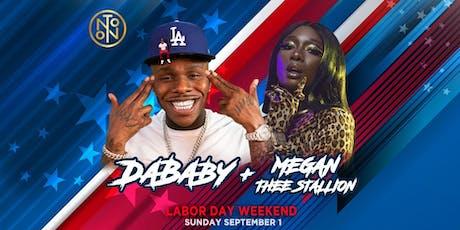 Da Baby & Megan Thee Stallion @ Noto Philly LDW Sept 1 tickets