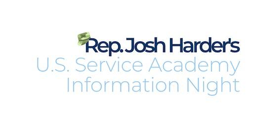 Rep. Josh Harder's U.S. Service Academy Information Night