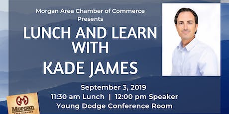 Morgan Chamber Lunch and Learn with Kade Janes tickets