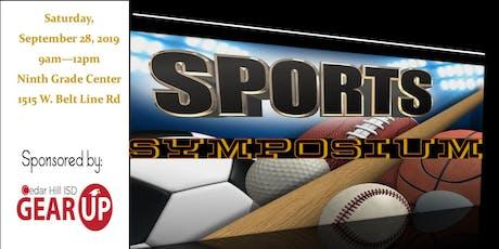 Cedar Hill ISD GEAR UP Sports Symposium tickets