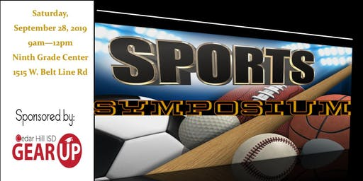 Cedar Hill ISD GEAR UP Sports Symposium