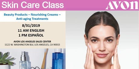 Skin Care Class  tickets