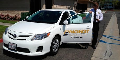 PACWEST SECURITY IS HIRING! tickets