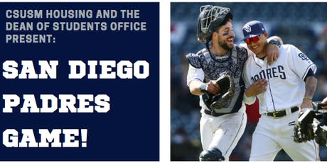 CSUSM SD Padres Game tickets