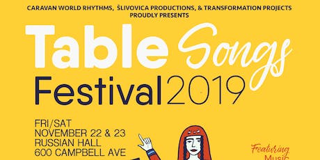 Table Songs Festival 2019 tickets