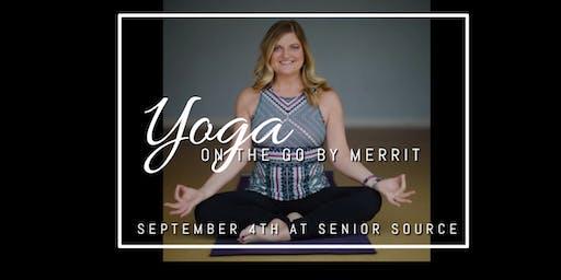 Senior Source  - Yoga on the Go by Merrit Spicer