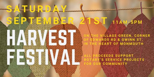 Harvest Festival Presented By Monmouth-Independence Rotary Club