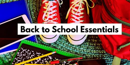 BAck To SCHooL Essentials!