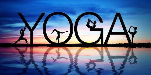 Yoga -Wednesdays at 12 pm