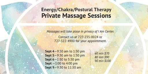 Energy + Chakra + Postural Therapy