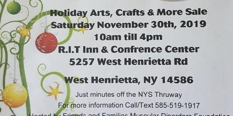 Holiday Arts, Crafts & More Sale  tickets