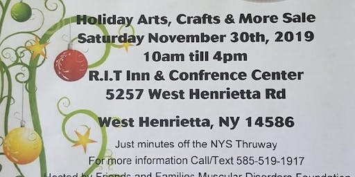 Holiday Arts, Crafts & More Sale