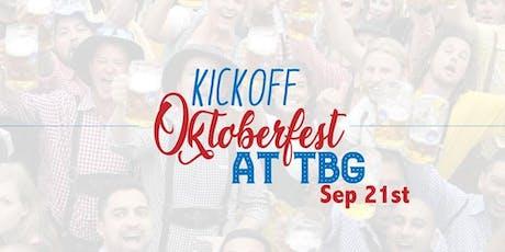 Oktoberfest Kickoff at Tysons Biergarten tickets