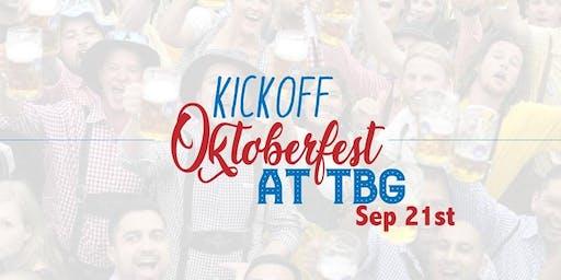 Oktoberfest Kickoff at Tysons Biergarten