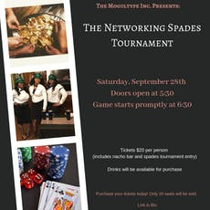The Networking Spades Tournament tickets