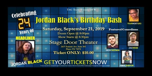 Jordan Black's Birthday Bash