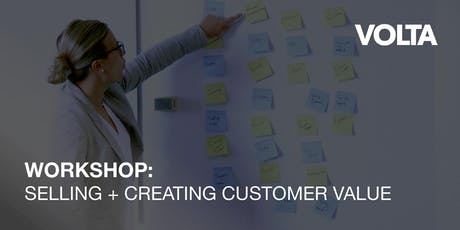 Selling + Creating Customer Value tickets