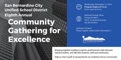 Community Gathering for Excellence
