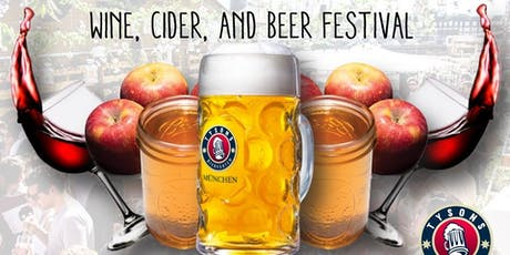 Wine, Cider & Beer Festival at Tysons Biergarten tickets