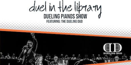 Duel in the Library - Dueling Duo Piano Show tickets