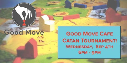 Catan Tournament September 4th!