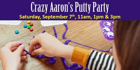 Crazy Aaron's Putty Party tickets