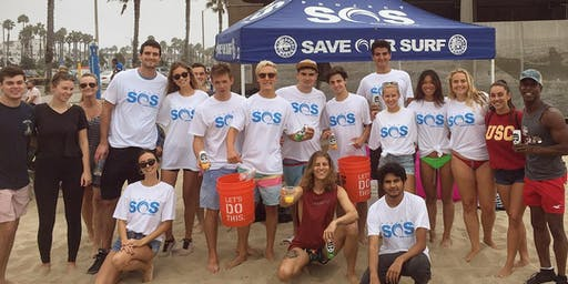 Project Save Our Surf Beach Clean Up (Veggie Grill Santa Monica After)