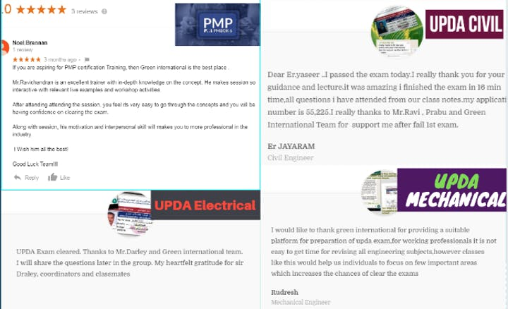 MMUP/UPDA/MME/PMP Exam Preparation Training Program Tickets