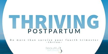 Thriving Postpartum tickets