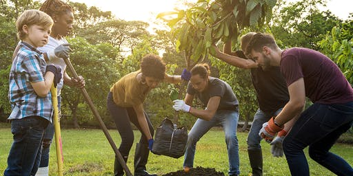 Let's Plant Trees & Volunteer Cookout