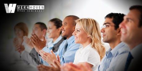 2019-2020 Federal Tax Update - Evansville, IN - Oct. 21-22 tickets