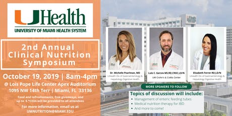 2nd Annual University of Miami Nutrition Symposium tickets