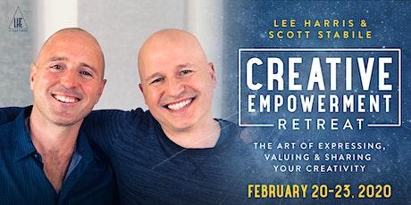 Creative Empowerment: A Retreat with Lee Harris & Scott Stabile tickets