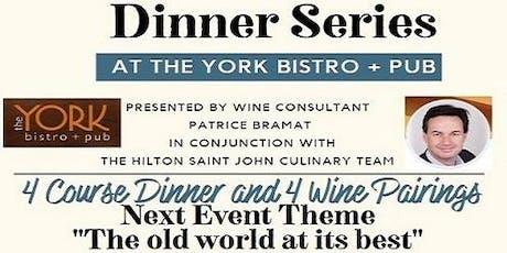 Wine Pairing Dinner Series 2 tickets