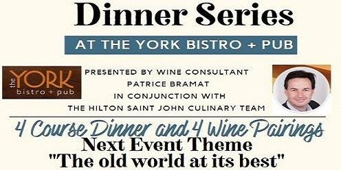 Wine Pairing Dinner Series 2