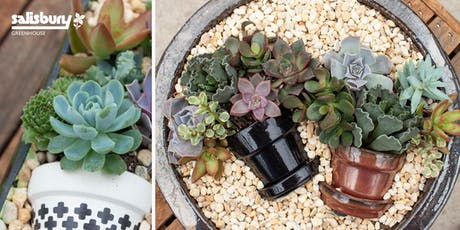Nesting Succulent Pot tickets