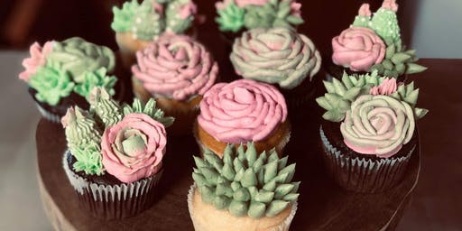 Decorate 4 Succulent Cupcakes at the Winery!