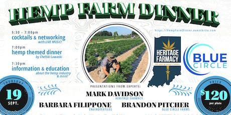 Five Course Hemp Dinner & Farm Tours tickets