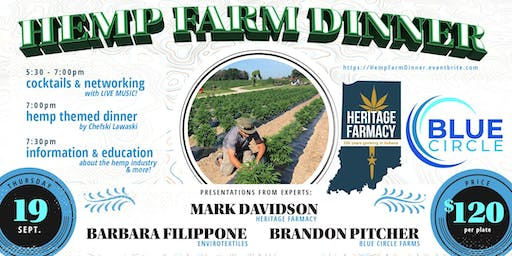 Five Course Hemp Dinner & Farm Tours