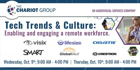 Tech Trends & Culture: Enabling and engaging a remote workforce. tickets