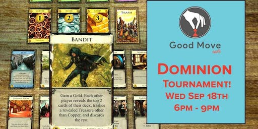 Dominion Tournament September 18th!