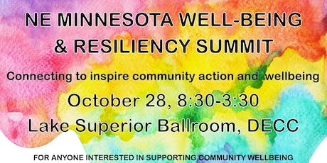NE Minnesota Well-being and Resiliency Summit tickets
