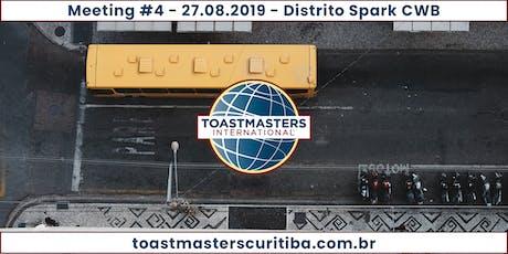 Comunicação e Oratória - Toastmasters Curitiba - M04Y19 ingressos