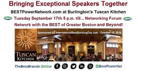 BESTPowerNetwork.com - Networking with The BEST of Greater Boston and Beyond! tickets