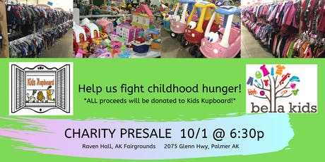 Bella Kids Kids Kupboard Charity Presale tickets