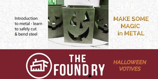 Halloween Votives - Introduction to The Foundry MetalShop